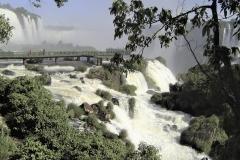 Chantal E : Les chutes d'Iguazu
