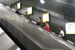 Fabrice V :Escalator