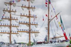 Hervé D : Armada Rouen le Cuauhtémoc