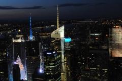 Michel G : New York Depuis l'Empire States