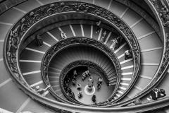 Thierry B : Escalier du Vatican