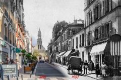 HD - Enghien Rue Mora 1937 2021