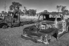 Hervé D - Carcasses de voitures