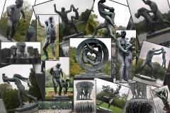 JLB - Oslo Vigelandsparken (Bronze & Fonte)