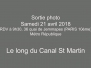 3-Le long du Canal St Martin