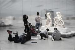 Michel G : Lycéens au Louvre Lens