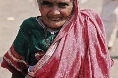 Mumbai-Femme au sari rose