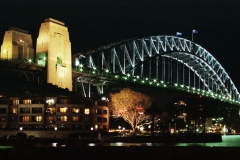Sydney - Harbour Bridge de nuit