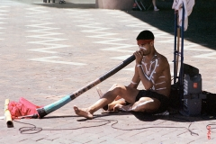 Sydney - Joueur de didgeridoo
