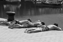 Pierre-P Enfants sur le port