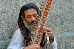 Pierre-P Musicien de rue