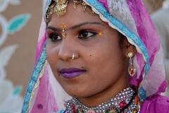 Inde desert du thar portrait